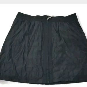 Richard Chai for Target Black Front Zip Skirt Sz 5